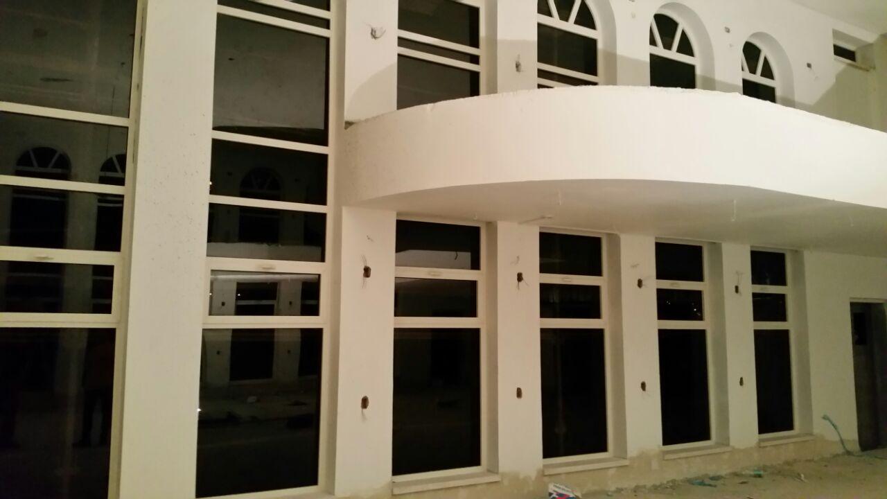 חלונות אלומיניום לבית הכנסת בקריית אתא